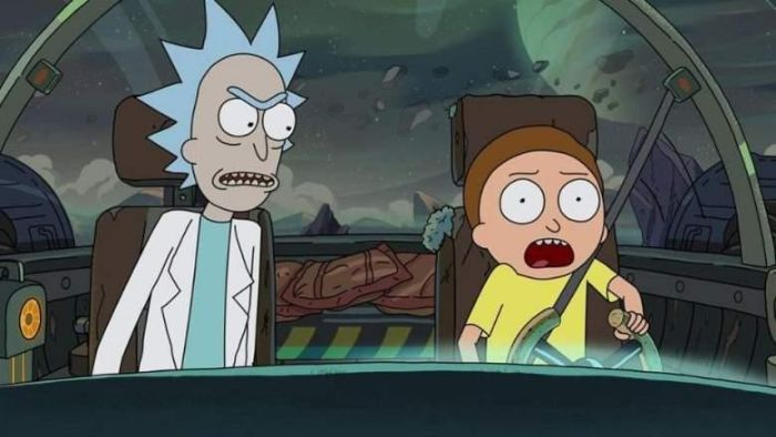 Rick Mad At Morty
